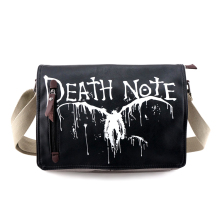 Death Note Ryuuku Canvas Messenger Bag Unisex