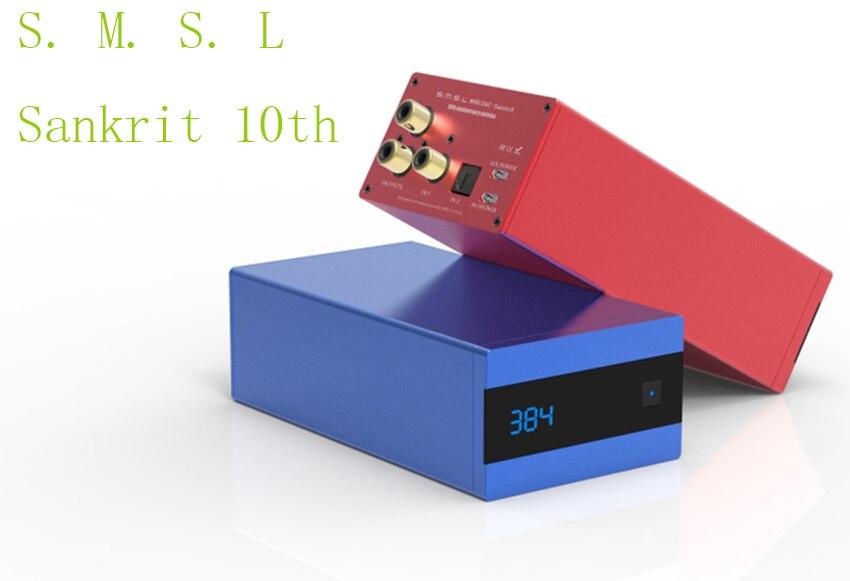 SMSL Sanskrit 10th Digital Audio Dac Usb Ak4490 Dac Optical Input XMOS Decodificador Dac Amplifier DSD