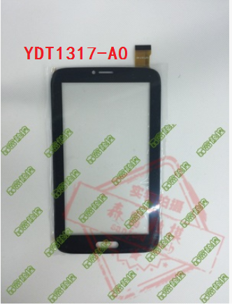 New original YDT1317-A0 black capacitive touch screen free shipping