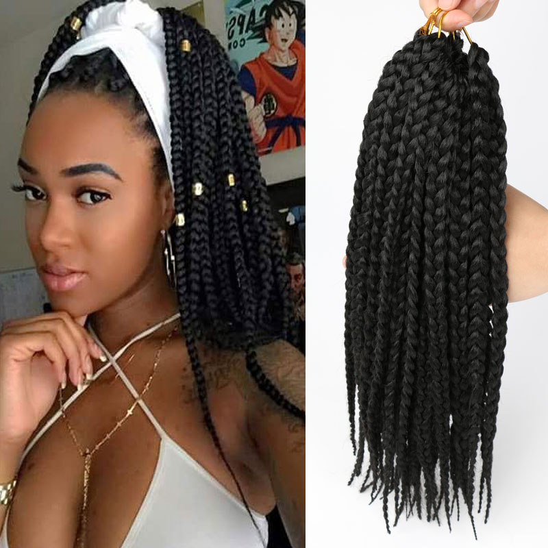 crochet box braids hair crotchet braids crochet hair ...