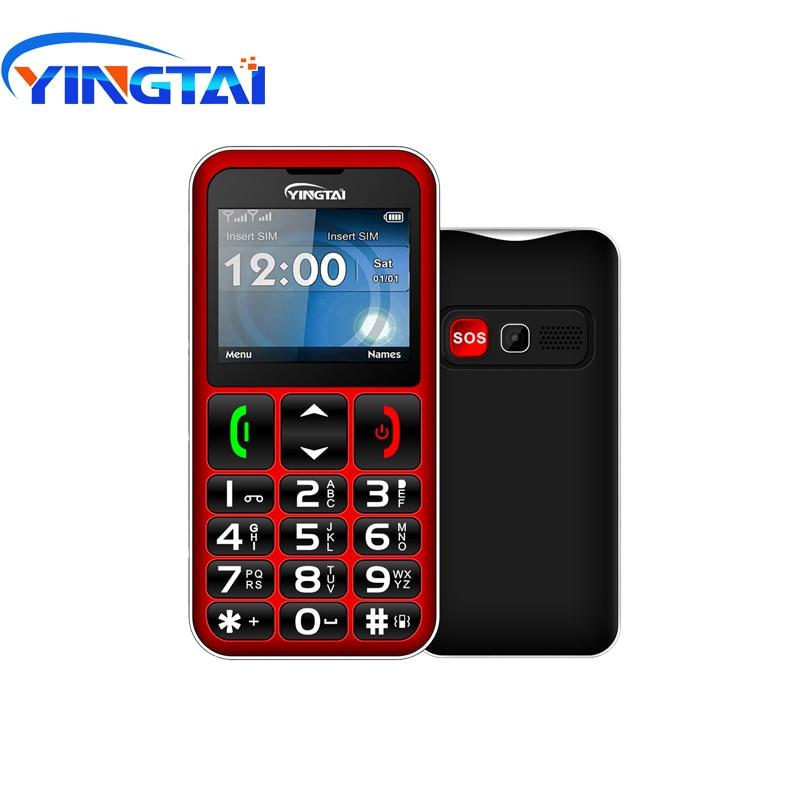 Image 3 - YINGTAI T11 Elder Cellphone best feature senior phone 2.2 inch FM  Torch speed dialSOS big Push Button Speaker Russian Keypad  GSMCellphones