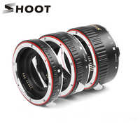 Conjunto de tubos de extensión Macro de enfoque automático para Canon EOS EF EF-S lente DSLR cámaras 1100D 700D 650D 600D 550D 500D 450D 400D 350D