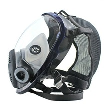 Легкая лицевая маска от защиты от химического воздействия противогаз маска кислота респиратор Краска распылитель пестицидов Силиконовый Фильтр маска для лица
