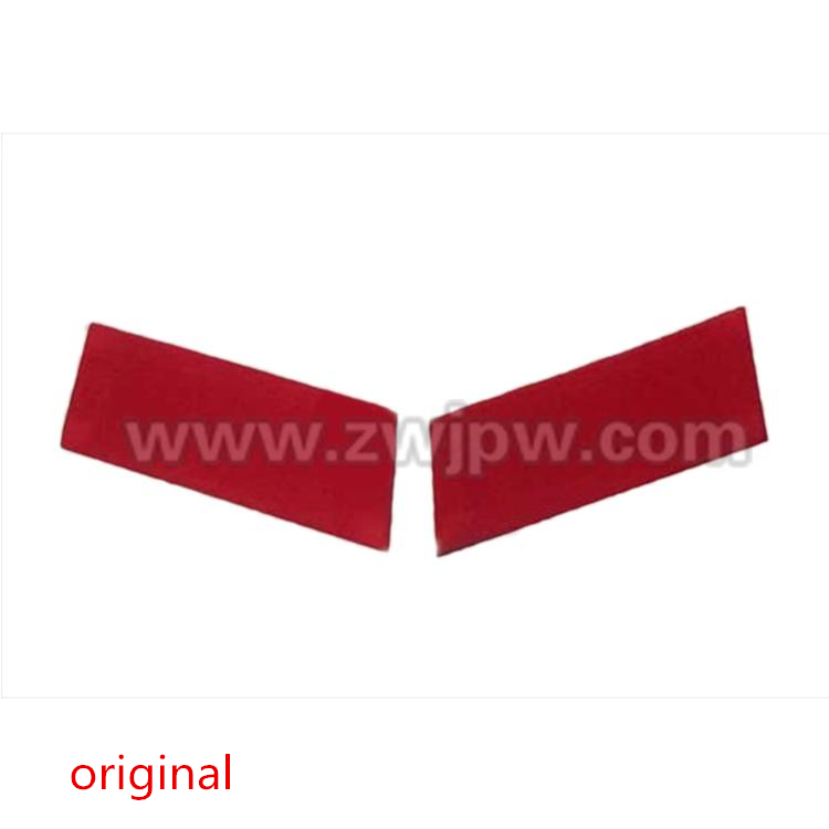 CHINA 65 RED COLLAR  RED GUAED UNIFORM COLLAR COSTUME COOLAR