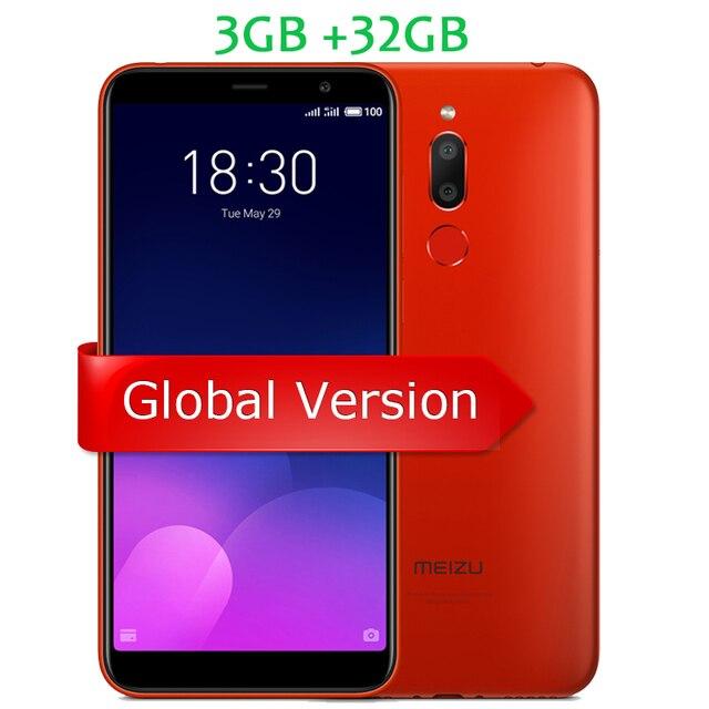 """Глобальная версия Meizu M6T 6 T 3 GB 32 GB M811H мобильного телефона mtk6750 восемь ядер 5,7 """"18:9 Экран двойной сзади Камера отпечаток пальца OTA"""