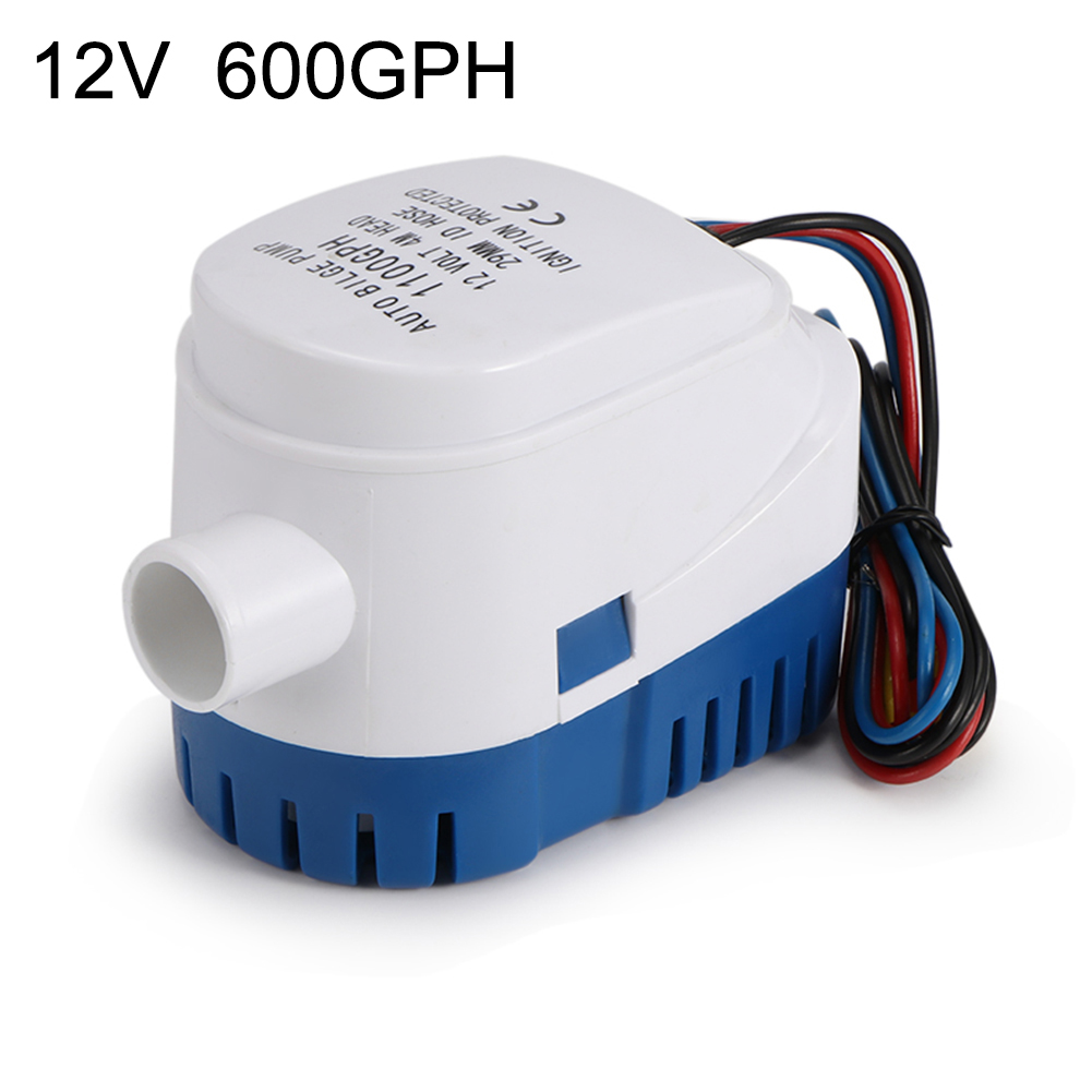 Stocking 12V Submersible 1100 GPH Marine Boat Bilge Pump With Float Switch