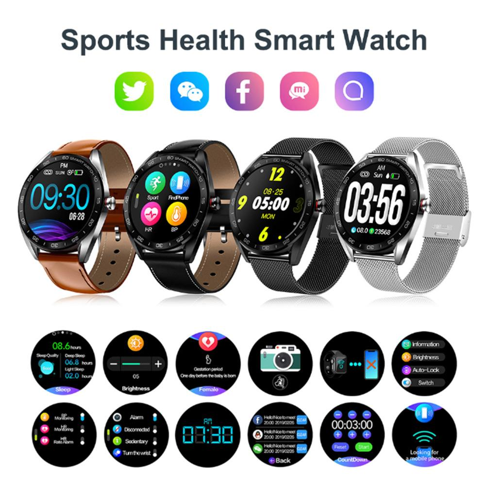 Smart Bracelet Waterproof Bluetooth Heart Rate Monitor Fitness Tracker Sports Smart Watch Heart Rate Detection For Android IOS-in Smart Watches from Consumer Electronics