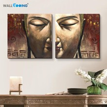 100% Hand Painted Oil Painting Canvas buddha wall art Paintings Home Decoration Religious buddhist painting Hotel decoration art