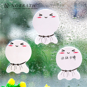 2Pcs/Set Cute Sunny Doll smily Memo Pad Kawaii Sticky Notes Lovely Scratch Paper Korean Stationery School Office Supplies Gift