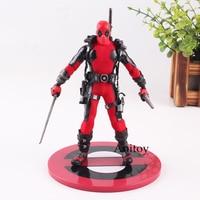 Marvel Figure Deadpool Action Figure Deadpool Armed With Guns Toy Gift 16cm