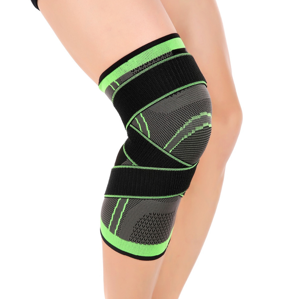 2018 Knee Support Professional Protective Sports Knee Pad Breathable Bandage Knee Brace Basketball Tennis Cycling цена