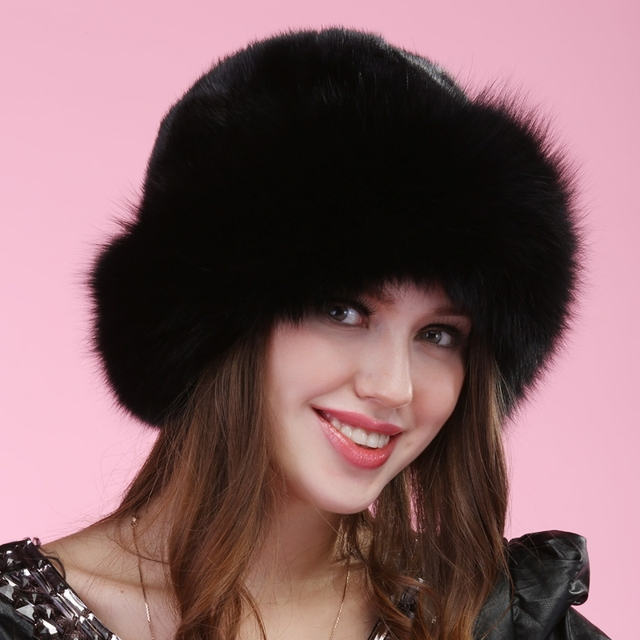 2016 autumn winter Super warm snow show women genuine rex mink fur muffs Russian style cap lady luxur fur hat hair lovely fur