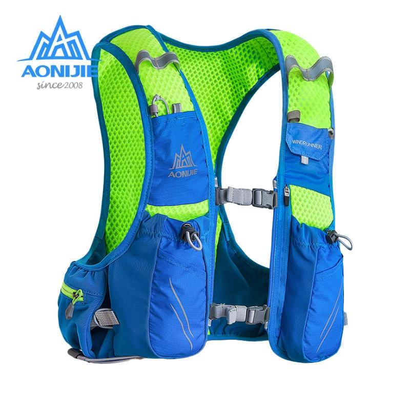 AONIJIE E904S Nylon 10L sacs d'extérieur sac à dos de randonnée Gilet Professionnel Marathon de Course sac à dos de cyclisme - 2