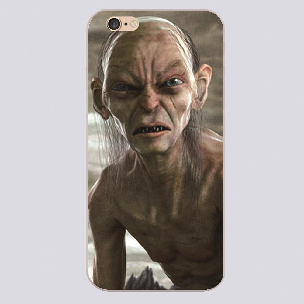 Lord of the Rings Design black skin phone cover cases for iphone 4 5 5c 5s 6 6s 6plus Hard Shell