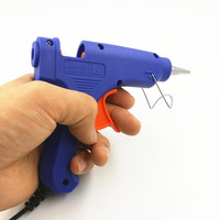 EU US 100V 240V Gun Syringe With Hot Silicone Gun For Repair Tools Hot Glue Gun