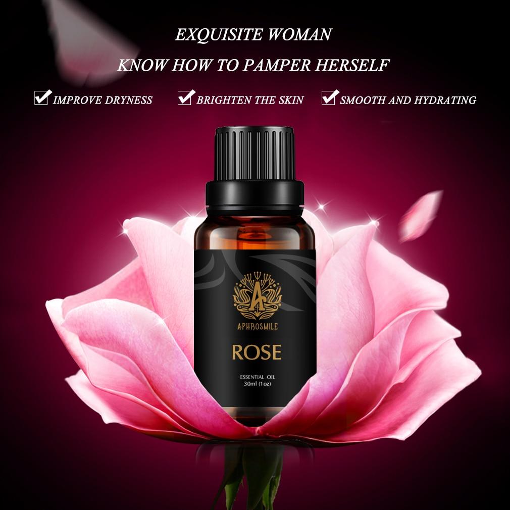 Powerful Rose Essential Oil Pure Natural Plant Skin Care Rose Oil 30ml Whitening Moisturizing Improve Dryness Brighten Skin