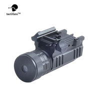 Tactifans Green Dot Laser Sight Collimator QD 20mm Rail Mount for Pistol and Airsoft Rifle Glock 17 19 22