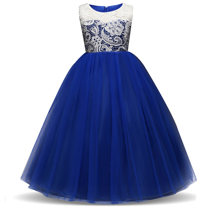 US $13.9 25% OFF|Children\'s Clothing Wedding Party Vestidos Plus Size Teen  Girls Clothes Flower Girl Dress 5 14yrs Baby Princess Dresses For Kids-in  ...