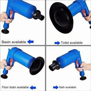 Image 5 - Drop Shipping Home wysokociśnieniowy powietrzny udrażniacz Blaster tłok pompy zlew rura płyn do udrażniania rur toalety łazienka zestaw do czyszczenia kuchni