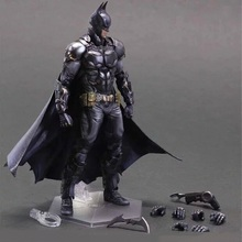 27cm Batman NO.1 Arkham Knight Play Arts Kai PVC Action Figure Toys Collectors Model With Box