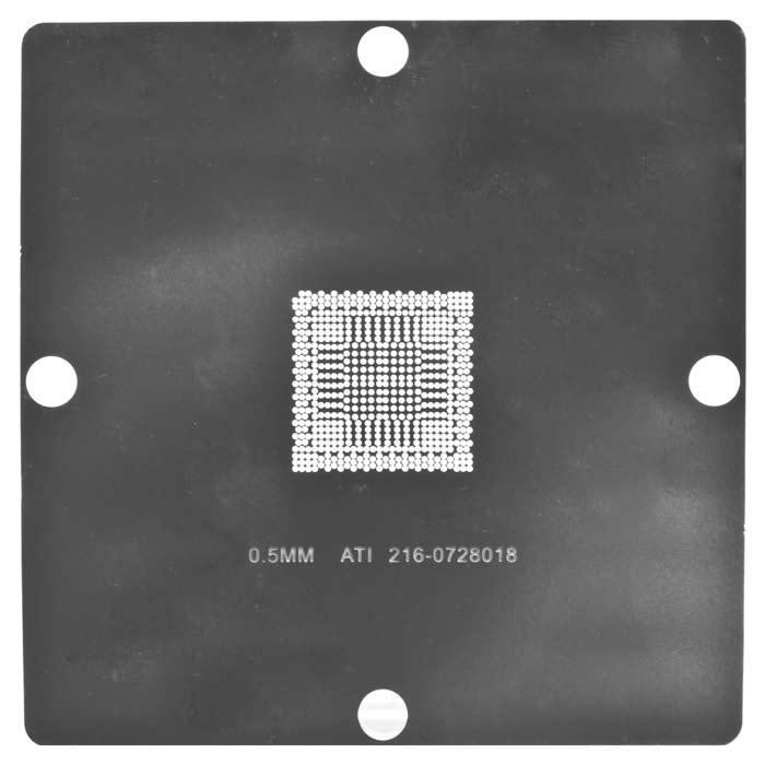 Stencil BGA for 216-0728018, 90x90  100% new ati 216 0728018 216 072018 new bga ic chips 2016year