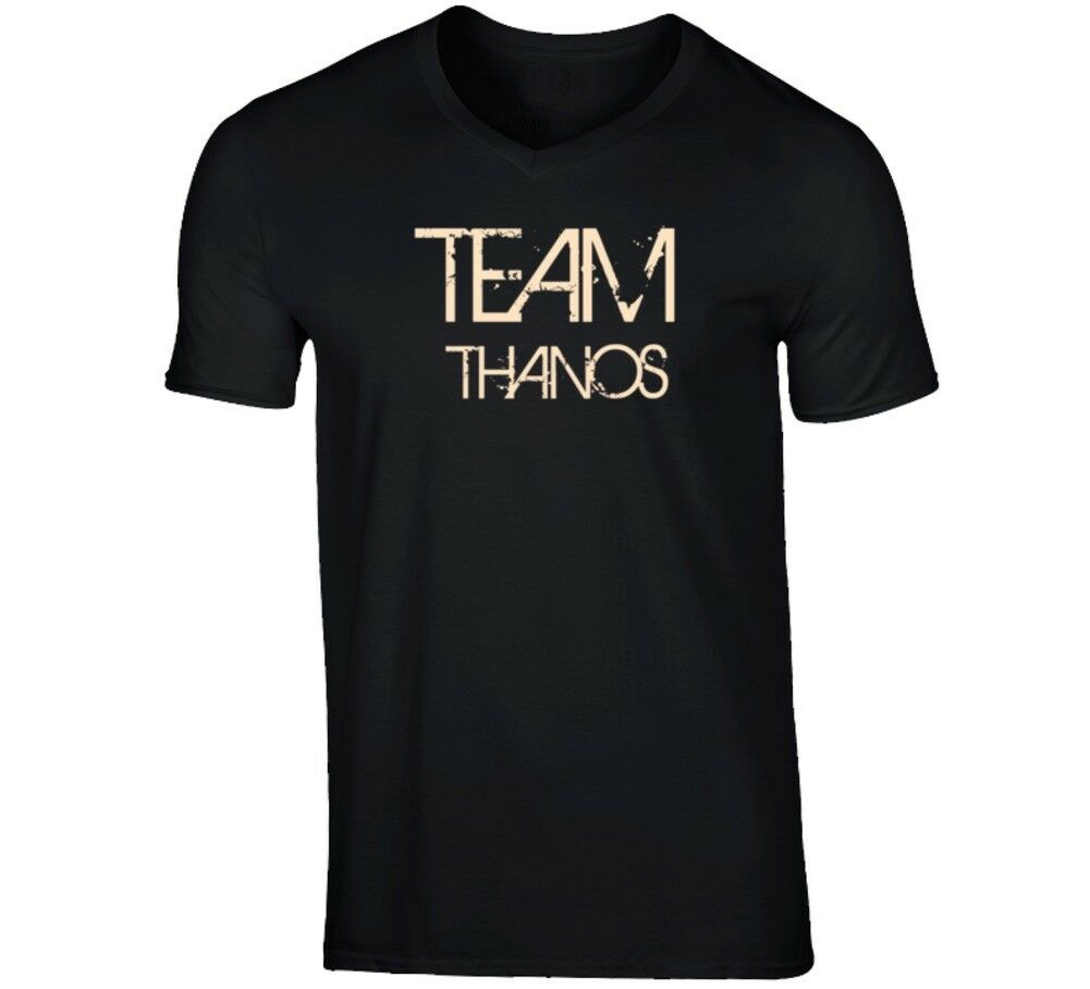 Team Sports Last First Name Thanos T Shirt