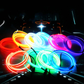 1x 1-5M Car Auto Decoration Sticker Atmosphere Light Thread Indoor pater Car Interior Exterior Body Modify Decal 10 ColorsAE