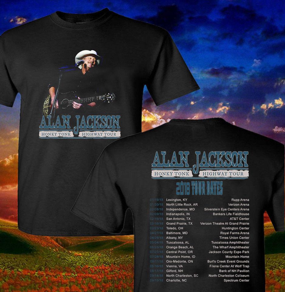 020588ac4d5 Cool T Shirt Companies Alan Jackson Shirt Honey Crew Neck Men Short Sleeve  Compression T Shirts