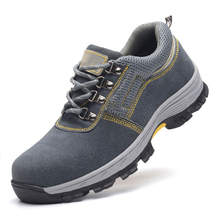 AC13001 Safety Shoes Labor Sport Men Steel Toe Boots Air-permeable Smash Cap Security