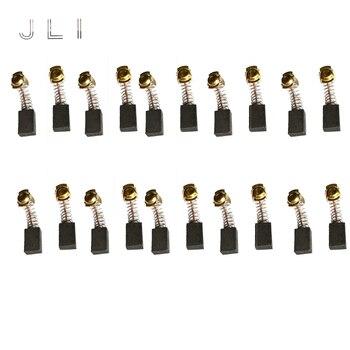 JLI 10 Pairs Spazzole di Carbone 7 11 18.5mm Per La Lucidatura di Marmo Macchina Macchine Utensili Elettrici A Motore Accessori Trapano Elettrico