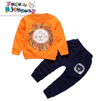 Children S Clothing Sets 2018 Spring Baby 2 Piece Set Cotton Girls Tracksuit Boys Sport Suit