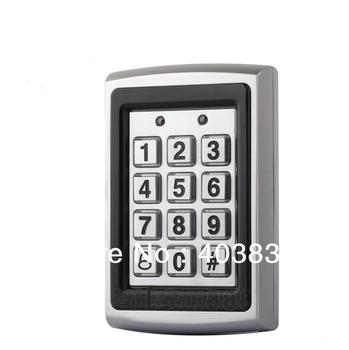 7612 Metal Rfid Access Control Keypad Support 1000 Users 125KHz ID Card Reader Electric Digital Password Door Lock цена 2017