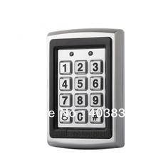 Clavier de contrôle daccès Rfid en métal, Support pour 7612 utilisateurs, 1000 KHz, lecteur de cartes didentité, mot de passe numérique, serrure de porte, modèle 125