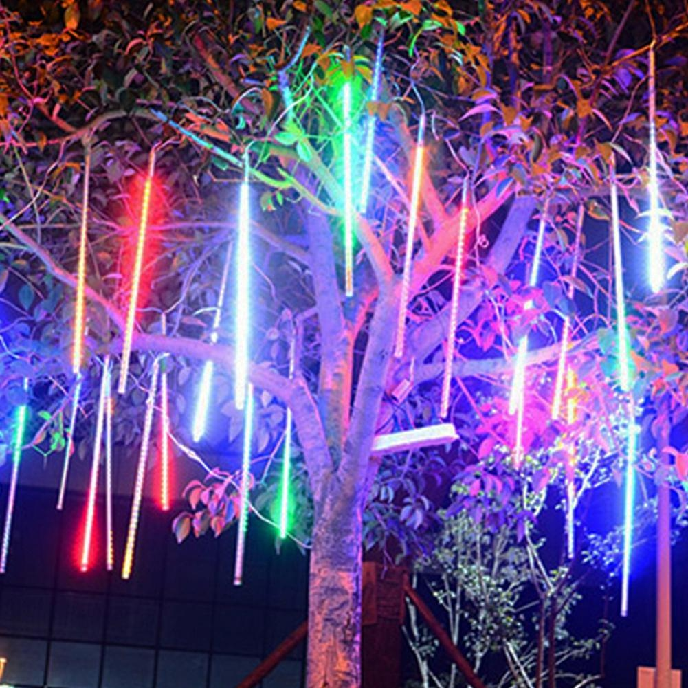 Lumiparty 30 см 50 см Открытый Водонепроницаемый Светодиодные строки Метеоритный дождь Дождь Свет для Рождество Свадебная вечеринка украшения JK35