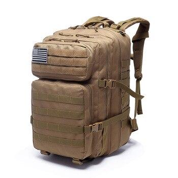 abe88a191 40L hombres mochila táctica 3 P mochila al aire libre de Molle mochilas  bolsa de deporte Camping senderismo viajes escalada mochila bolsas militares