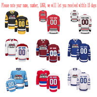 Customized Any ICE Hockey Jerseys Any Logo Name Number Embroidery Wholesale From China Free Shipping Sent