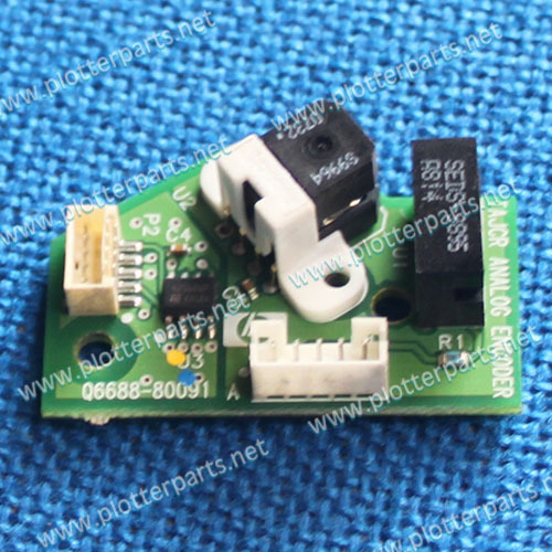 CK837-67020 Encoder sensor assembly for HP DesignJet T620 T770 T1120 T1200 T2300 original used 033 0512 8 encoder disk encoder glass disk used in mfe0020b8se encoder