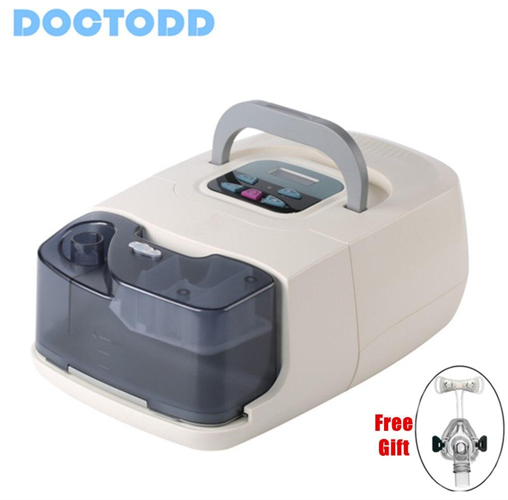 Doctodd GI CPAP CE FDA Approved CPAP Respirator for Sleep Apnea OSAHS OSAS Snoring People With Nasal Mask Headgear Tube Bag цены онлайн