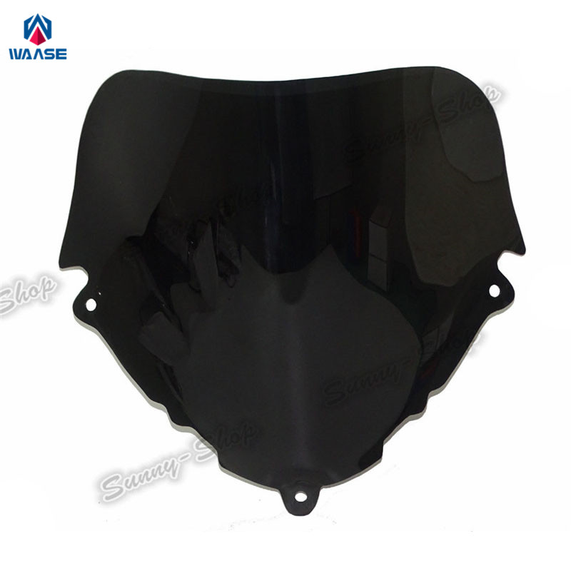 waase motorcycle windscreen windshield shield screen for suzuki katana gsx600f gsx750f gsx 600f. Black Bedroom Furniture Sets. Home Design Ideas