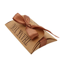 2018 New Arrival 50Pcs Vintage Kraft Paper Candy Boxs Wedding Party Favours Gifts Boxes Free Shipping(China)