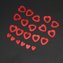 15g 1000pcs Love Heart   Shape Confetti Table Scatters Christmas Wedding Decoration Party Supplies