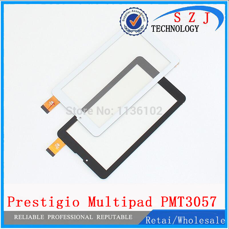 New 7'' inch tablet pc case Prestigio Multipad Wize 3057 3G PMT3057 Touch screen Panel digitizer glass Sensor Free Shipping