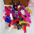 30Pairs/Lot Doll Accessories Shoes Sandals Fashion Design Monster Doll Shoes