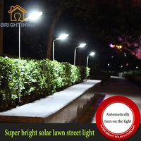 Waterproof Outdoor Light Control Solar Power Lawn Lamps IP65 Garden Path Projection Light LED Solar Powered