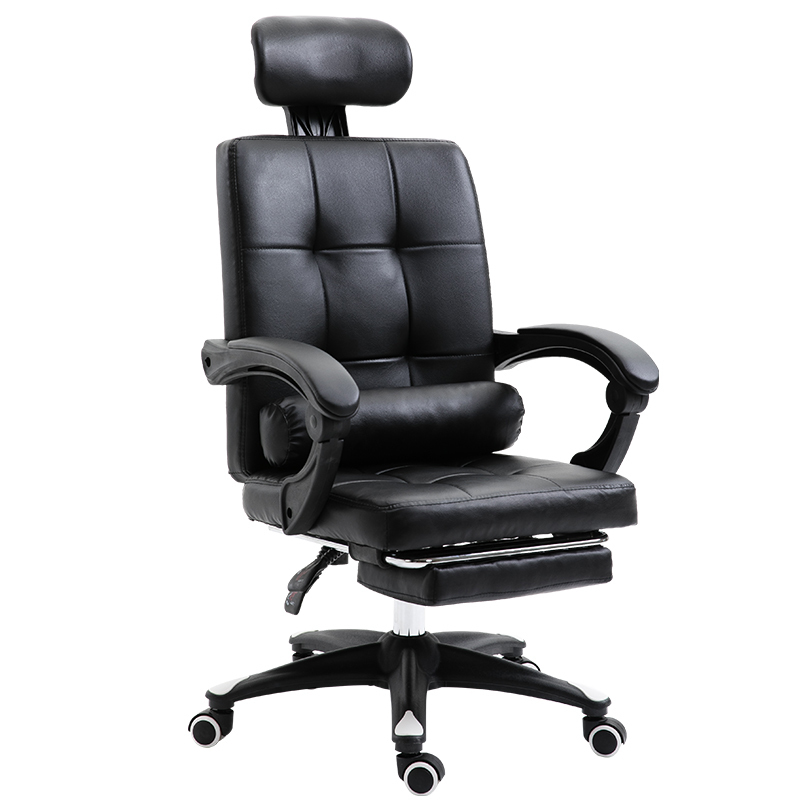 High Quality Silla Gamer Boss Chair Wheel Ergonomics Can Lie Synthetic Leather With Footrest Pillow Office Furniture Poltrona