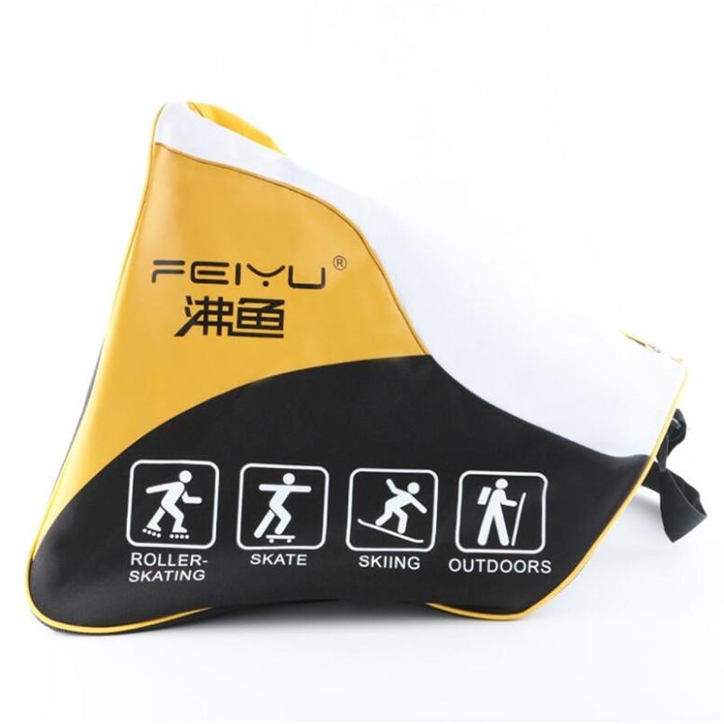 Long Life Children Roller Skate Shoes Bags Single-Shoulder Bag Handbags For Inline Skate Skating Or Sports Usage Multifuction