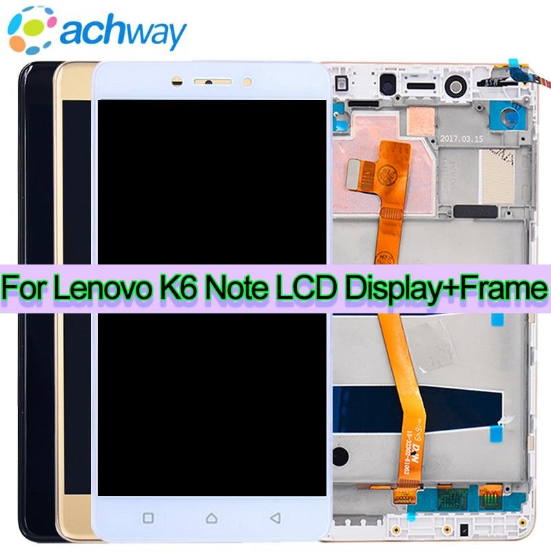 K6 Note LCD Display