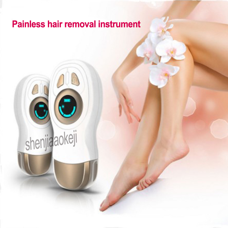 110 240v  New Automatic painless hair removal instrument household blue light thermal Electric Epilator for Male /female 1pc|Food Processors| |  - title=