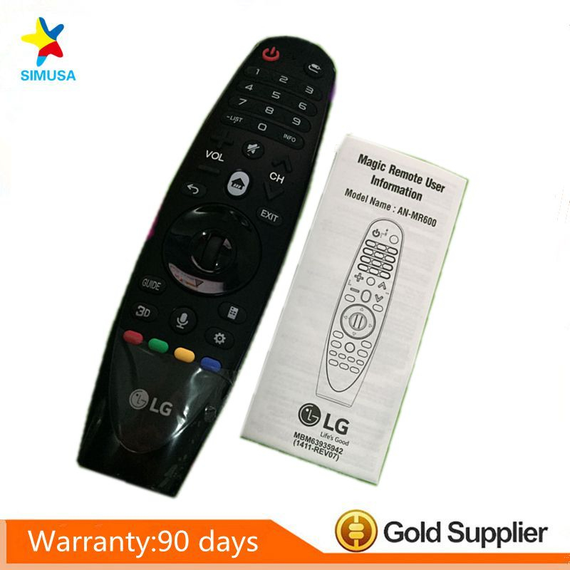 Original AN-MR600 AN-MR600G Magic Motion Remote Control with Browser Wheel for LG 3D smart TV new an mr600g anmr600 magic remote control for lg 3d smart tv