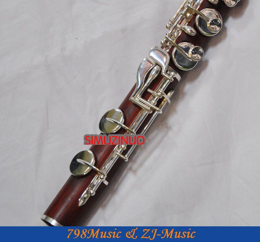 ALTO Flute-Perak Disepuh-ROSE WOOD-G - Alat-alat musik - Foto 3